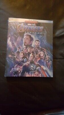 Avengers End Game Blu-ray new