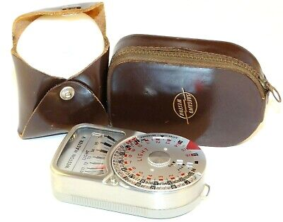 Weston Master V Light Meter - with Case and Invercone - A Classic!