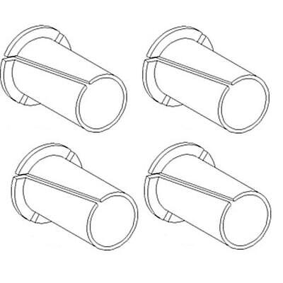 231800A1 New Pack of 4 Door Hinge Bushings Made to fit Case-IH Tractor Models