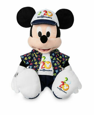 Disney Parks Mickey Mouse 2020 Dated Plush Doll NEW