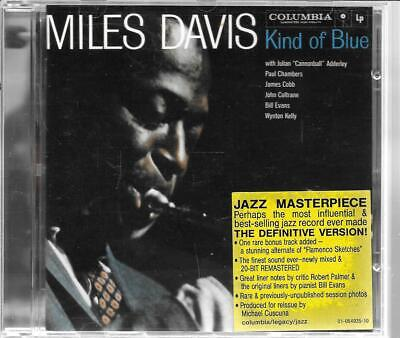 CD Album 6 Tracks Miles Davis Kind of Blue 1997