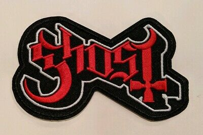 Ghost BC (B.C.) Embroidered Iron-on Heavy Metal Band Patch