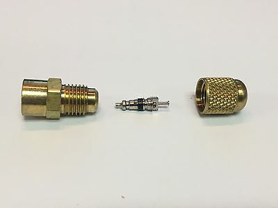 """Rubber Plug Nozzle 3//4/"""" to 1-1//4/"""" Rubber Plug Adapter with 1//4 Male Flare"""