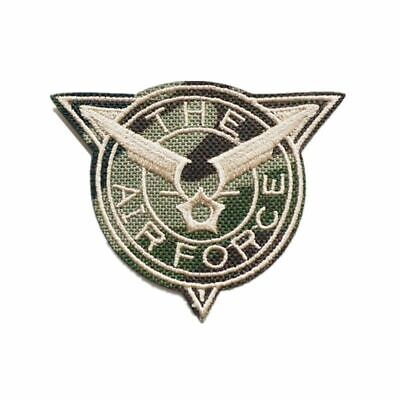 Camouflage Emblem Medal Pattern Embroidery Sew Iron On Patches For DIY Appliques