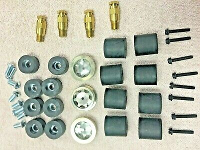 JB Industries, Vacuum Pump Parts Lot, Platinum, Eliminator, Proudly Made, USA
