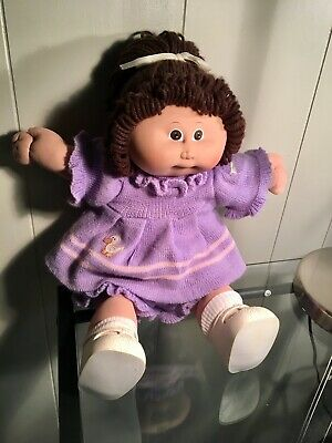 VINTAGE 1984 CABBAGE PATCH KIDS DOLL with birth & adoption cert