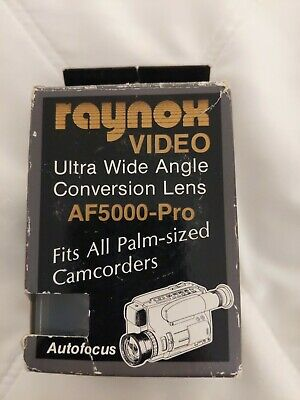 Raynox Video Ultra Wide Angle Conversion Lens AF5000-pro