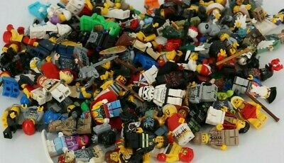 Lego Minifiguren 10 Stück gemischt Figuren City Basic Star Wars Ninjago L600