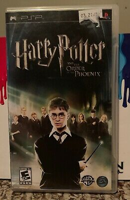 Harry Potter and the Order of the Phoenix (Sony PSP, 2007) Complete. Tested.