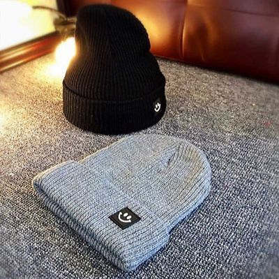 Fashion Winter Warm Hat Knitted Cotton Casual Beanie for Men/Women New