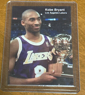 1998 KOBE BRYANT Sports Weekly Lakers #25 Rare Lakers Insert.