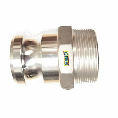 """Camlock 1"""" BSP Male Thread Male Water Pump Connector Hose Coupling Type F NEW"""