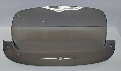 """UNIVERSAL FIT SMOKED PLEXIGLASS BOAT WINDSHIELD CENTER OR SIDE CONSOLE 19/"""""""