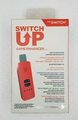 IN HAND 🔥 Nintendo Switch Up Game Enhancer V2.0 Collective Minds