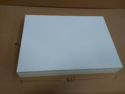 FOAMBOARD - 3 mm A4 10 sheet pack -  White Foam Core Board
