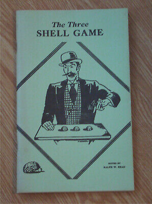 Vintage Magic Trick Book THE THREE SHELL GAME by Mitchell Kanter magician