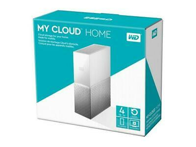 Wd My Cloud Home 4T Personal Cloud Storage Nas, Media Server, File Sync