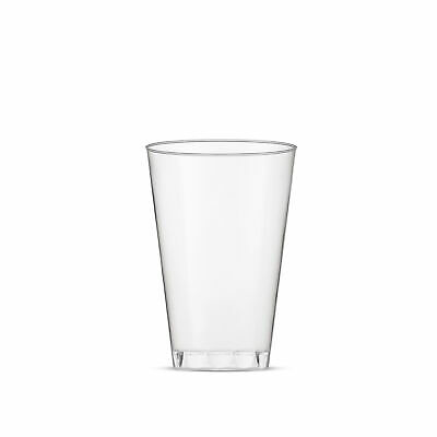 Host & Porter Clear Plastic Cups, 10oz, 20 Count