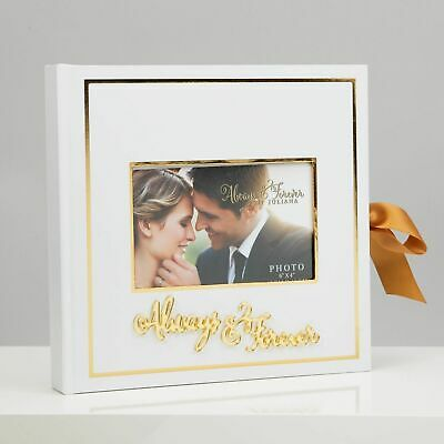 Always & Forever 25 page Wedding Scrap Book With Photo Holder New and Boxed