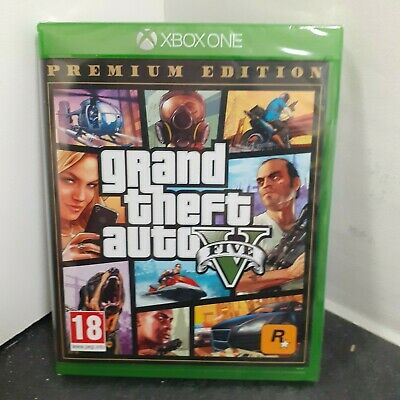 Grand Theft Auto v 5 Premium Edition Xbox One Game - New and Sealed