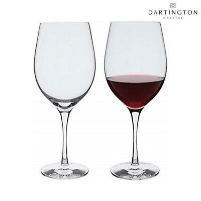 Dartington Crystal Wine Master Pair of Bordeaux Wine Glasses, Set of 2, 60cl