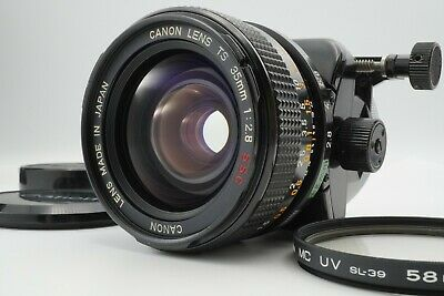【EXC+5】 Canon TS 35mm F2.8 S.S.C. SSC Tilt Shift from Japan #915