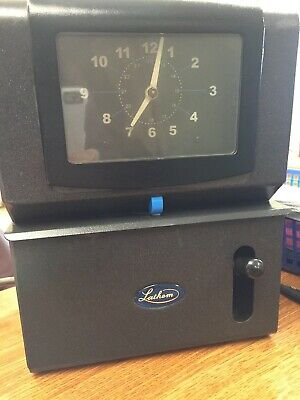Lathem  Time clock