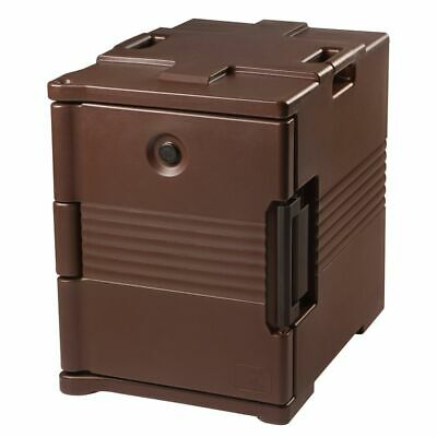 Cambro UPC400131 Dark Brown Front Loading Ultra Pan Carrier