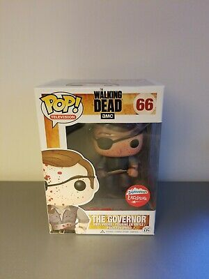 Funko Pop! The Walking Dead #66 The Governor Fugitive Toys Exclusive Bloody