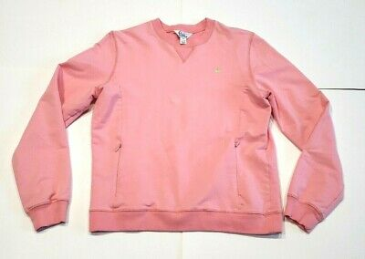Lilly Pulitzer Women's Small Pink Sweatshirt with Zip Pockets