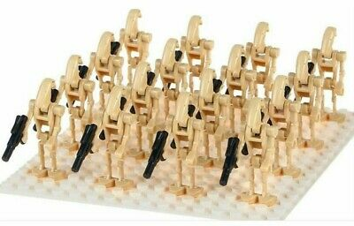 20 X Lego Compatible Star Wars Battle Droid Mini Figures Army New