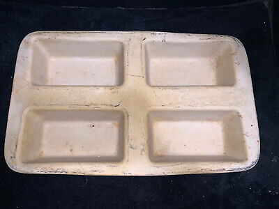 Pampered Chef 4437 Stoneware Bread Food Crock 4 3//4 cup RV Camping