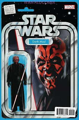 Star Wars Darth Maul #1 Action Figure Variant Cover Marvel Comic Book 2017 Sith