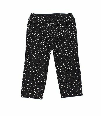 Alfani Womens Pants White Black Size 22W Plus Ankle Dot-Print Stretch $84 331