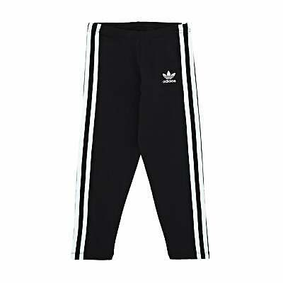 Adidas Originals Classic Girls Pants Leggings - Black All Sizes