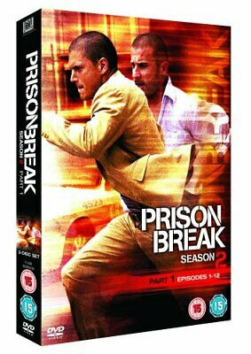Prison Break - Season 2 - Part 1 DVD (2007) Wentworth Miller New