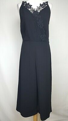Lipsy London Womens Jumpsuit, Size 16, Black, New With Tags
