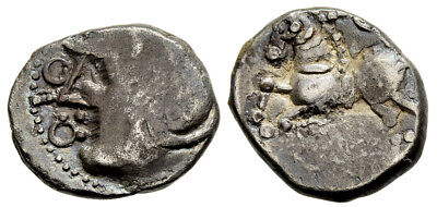 FORVM Celts Gaul Sequani Time of Caesar's Gallic Wars c. 60 - 52 B.C