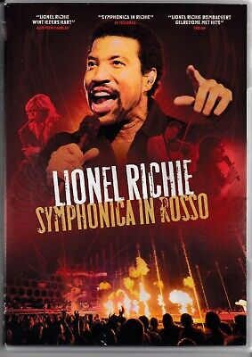 LIONEL RICHIE Symphonica In Rosso DVD HOLLAND incl orchestra  freepost worldwide
