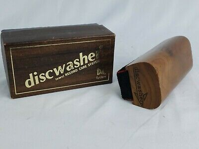 Vintage Discwasher Brush W/ Box Vinyl Record Cleaner