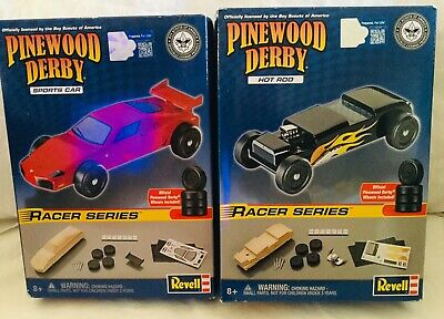 Basic Wedge Model Kit Hot Rod Racers Deluxe Pinewood Derby Car Boy Scouts Racing