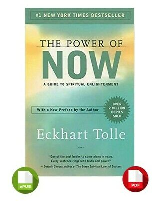 The Power of Now By Eckhart Tolle - PDF + EPUB [INSTANT DELIVERY]