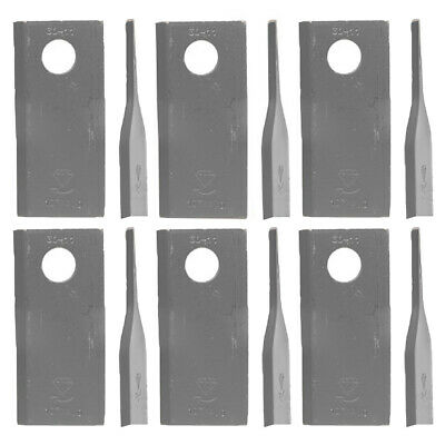 90261560 6 Pack RH Blades For Vicon Gehl Massey Ferguson Disc Mowers Six Pack
