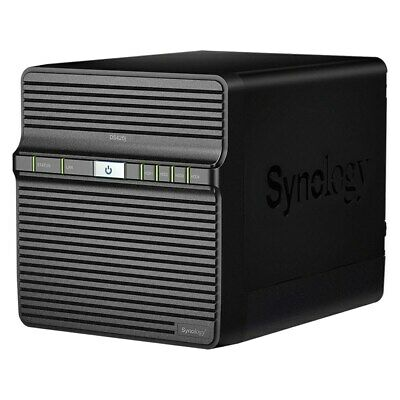 "Synology DiskStation DS420j 4-Bay 3.5"" Diskless NAS Quad Core CPU 1GB RAM"