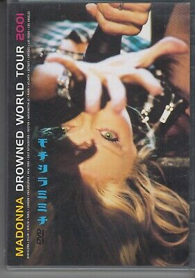 MADONNA Drowned World Tour DVD FREEPOST WORLDWIDE