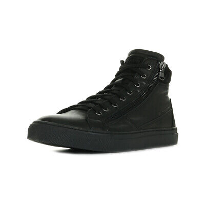 Chaussures Baskets Redskins homme Nerino Noir taille Noire Cuir Lacets
