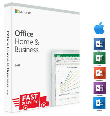Microsoft Office 2019 for Mac + instant delivery + lifetime license