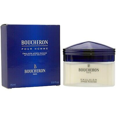 Boucheron Pour Homme Men 75 ml After Shave Emulsion