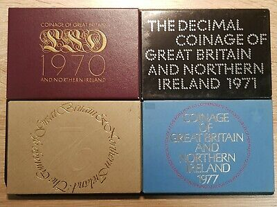 Birthday Present 1970-1982 Royal Mint Proof Coin Year Set Choose Year