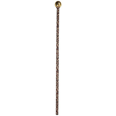 Gold Pimp Stick Walking Cane Gangster Hip Hop Willy Wonka Dance Stick Dracula